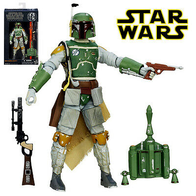 Star Wars The Black Series #06 Boba Fett Action Figures Model Statue Kids Toy