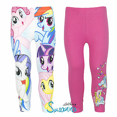 Oficial Hasbro My Little Pony de chica Leggings pantalones Conjunto 2