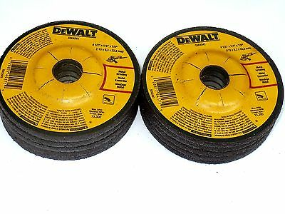 "10 New DEWALT 4-1/2"" x 1/4"" x 7/8"" METAL GRINDING WHEELS - DW4541 Free Shipping"