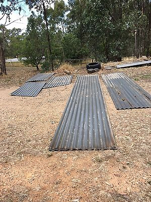 Corrugated Roofing Iron -   Various sizes Grey colour