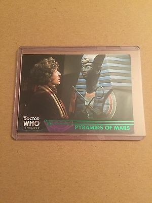 Topps Doctor Who Timeless Green Parallel Card: Pyramids of Mars #22