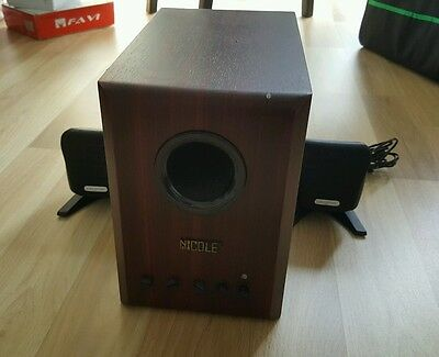 Creative Speakers with subwoofer