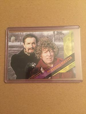 Topps Doctor Who Timeless: Time Travelers - The Second Master - 2 of 10