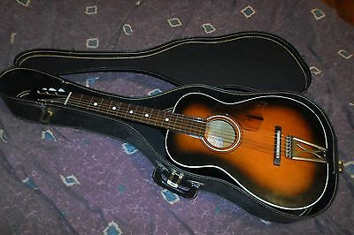 Vintage 1975 Harmony Stella H1110 parlor guitar VG+ Excellent Action *Worldwide*