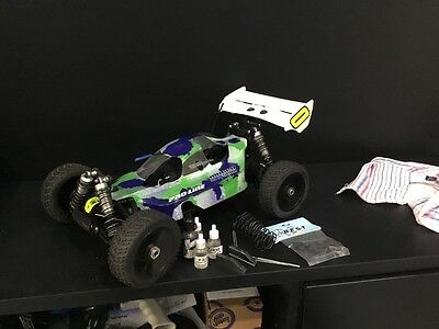 mugen mbx6r race buggy hpi traxxas losi rc car