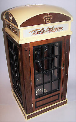 Vintage Spirit of St. Louis British Phone Booth Wall or Freestanding Telephone