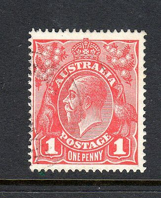 Kgv  1D Red Small Dot On Y  Fine Used