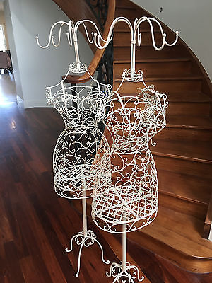 Female-Vintage-Wrought-Iron-Wire-Mannequin