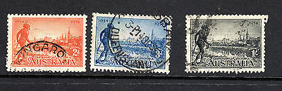 Centenary Of Victoria   Set Of 3  Perf 11.5 Fine Used