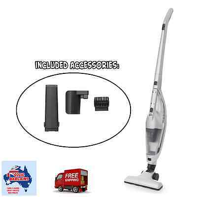 2 in 1 Rechargeable Hand Stick Vacuum Cleaner - Washable HEPA filter - NEW