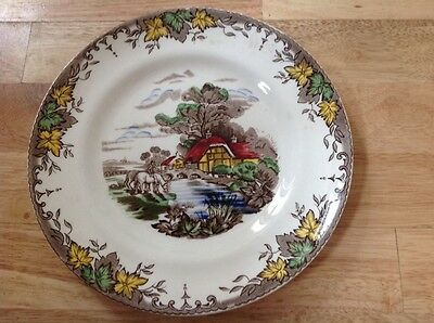 Vintage Crown Clarence Plate - Byron Staffordshire
