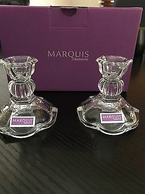 Marquis By Waterford Candle Holders