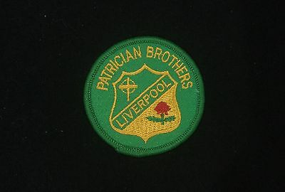 Souvenir Woven Patch / Badge - Liverpool Patrician Brothers School
