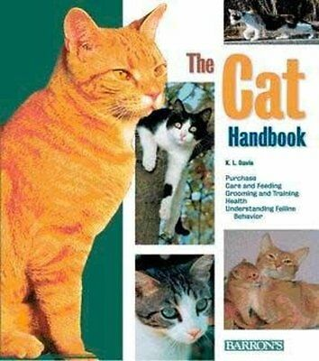 The Cat Handbook - Paperback Guide Book with Facts and Advice etc
