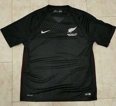 New Zealand Nike Away Football Shirt 16/17 Bnwt Xl