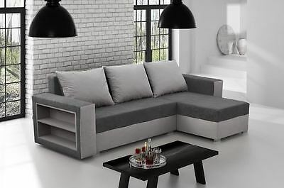 New MADRAS Corner Sofa Bed Best Quality GREY COLOR Free delivery