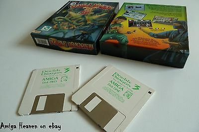 Boxed Amiga Game - Double Dragon III The Rosetta Stone by Storm ۩