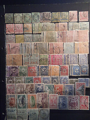 Timbres Turquie