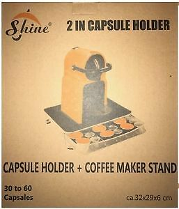 Nespresso Capsule Holder and Machine Stand  Compatible