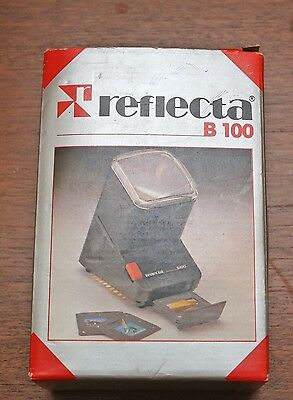 Reflecta B100 Mains Operated Viewer for Mounted Slides