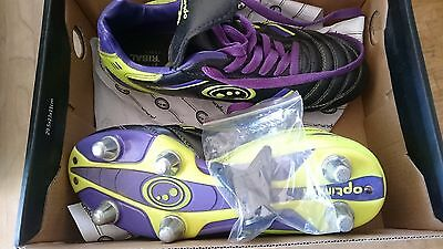 Boys size 4 rugby boots