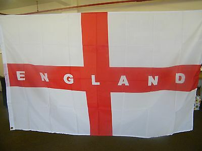 ENGLAND FLAG - ST GEORGE ENGLISH NATIONAL FLAGS 3ft x 5ft