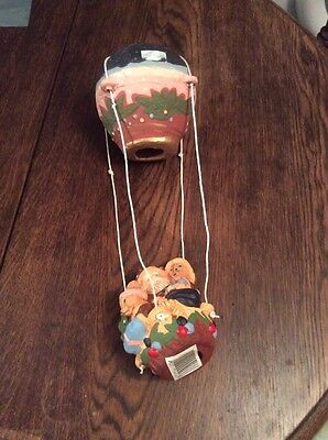Brand New Hanging Father Christmas Air Balloon Ornament