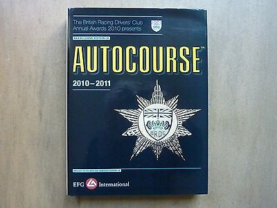 Autocourse 2010-2011 Grand Prix Annual Motor Racing F1 Touring Sports Gt