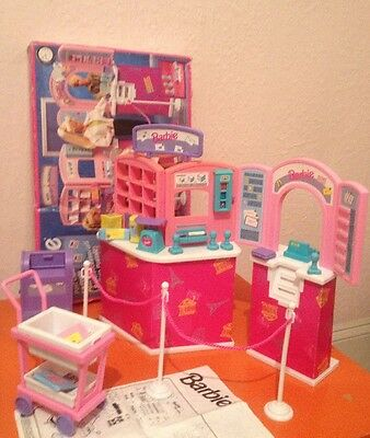 Barbie Vintage 1994 Post Office Set  Playset Boxed With Contents &  Instructions