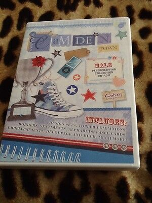 Camden Town Male Cd Rom By Crafters Companion