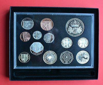 2010 Royal Mint Proof 13 Coin Set