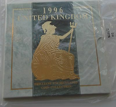 1996 Royal Mint UK Brilliant Uncirculated Coin Collection