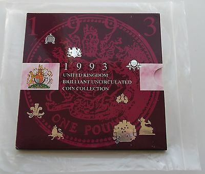 1993 Royal Mint UK Brilliant Uncirculated Coin Collection