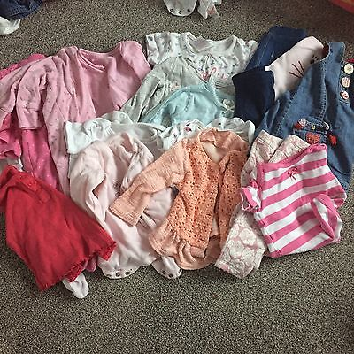 Baby Girl 3-6 Months Bundle, 18 Items