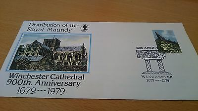 Royal Maundy Winchester Cathedral Cover 1979