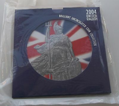2004 Royal Mint UK Brilliant Uncirculated Coin Collection