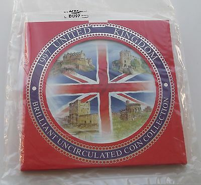 1997 Royal Mint UK Brilliant Uncirculated Coin Collection