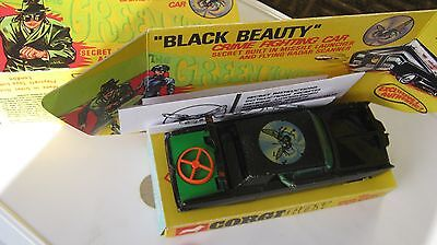 Corgi 268 Green Hornet Black Beauty Nice Original Car As Described Ingoodrep Box
