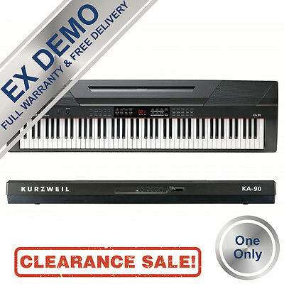 EX DEMO Kurzweil - KA90 Arranger Stage Piano