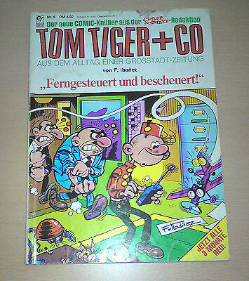 TOM TIGER + CO Nr.6 Comic Album # Condor Verlag F.Ibanez Clever & Smart