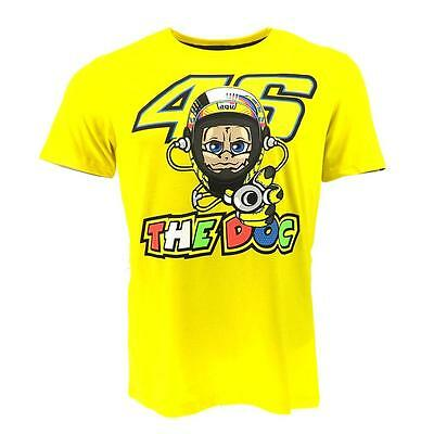 Valentino Rossi VR46 The Doctor 46 Yellow Tee T-Shirt