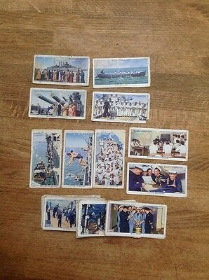 Wills' cigarette cards- Life In The Royal Navy