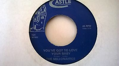 northern soul the millonaires you've got to love your baby