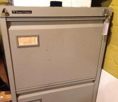 4 drawer metal filing cabinet With Key And Inserts