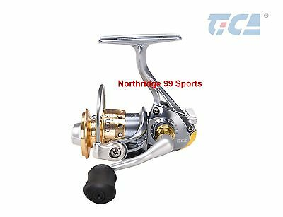Tica Cetus SS500 Ultra Light Spinning Reel 6+1 BB New in Box  FREE Spare Spool