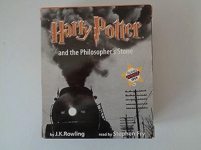 Harry Potter and the Philosopher's stone. Audio book. 6 cassettes.