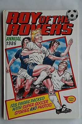 Roy of the Rovers Annual 1986 - 31 Years Old