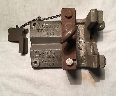 BEAVER Square End Sawing Vise 2 Thin Wall Copper Tubing Warren OH USA Plumbing