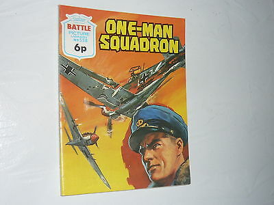 Battle Picture Library Comic Magazine No558 One Man Squadron Hawker HurricaneWW2