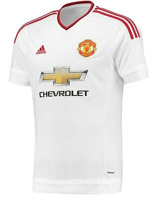 Manchester United Fc Away 15/16 Authentic Jersey